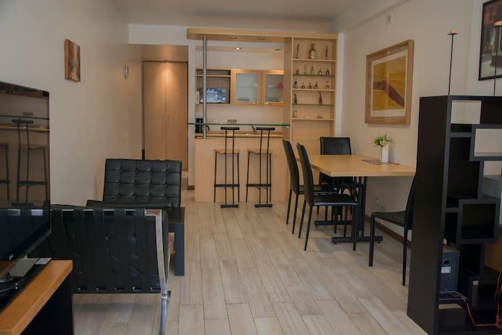 New Studio/Departamento en Recoleta