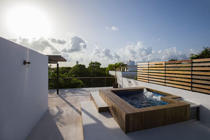 Luxury Private House in Puerto Morelos