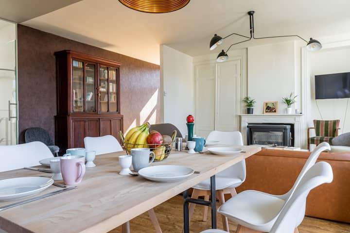 comfortabel appartement in hartje Kortrijk