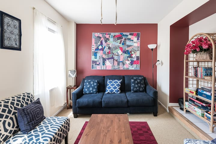 Generous Petworth Home; 3 min Metro w/ pvt parking