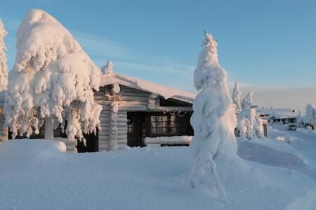 Iso-Syöte cottage, Huippu - Syötekylä