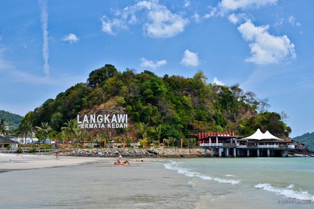 famous cenang beach