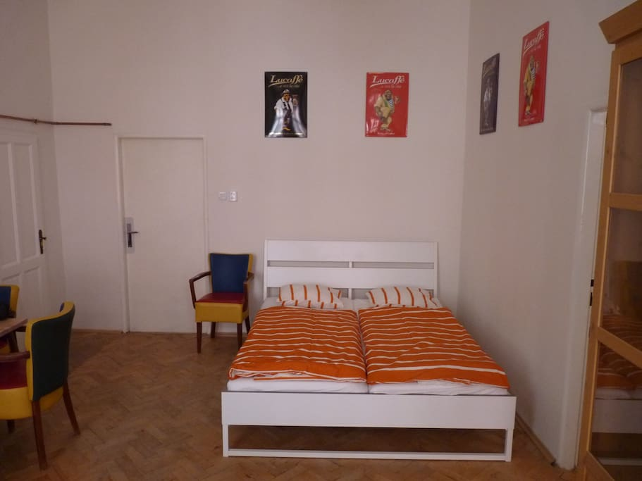 Double bed for your comfortable sleep