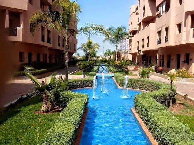 Appartement ensoleillé à Marrakech - Annakhil - Marrakech - Lejlighed