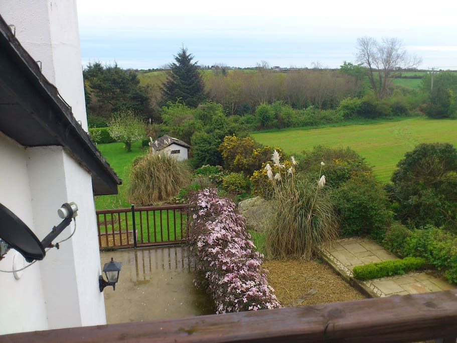 View for Main Bedroom Balcony towards Sea .
