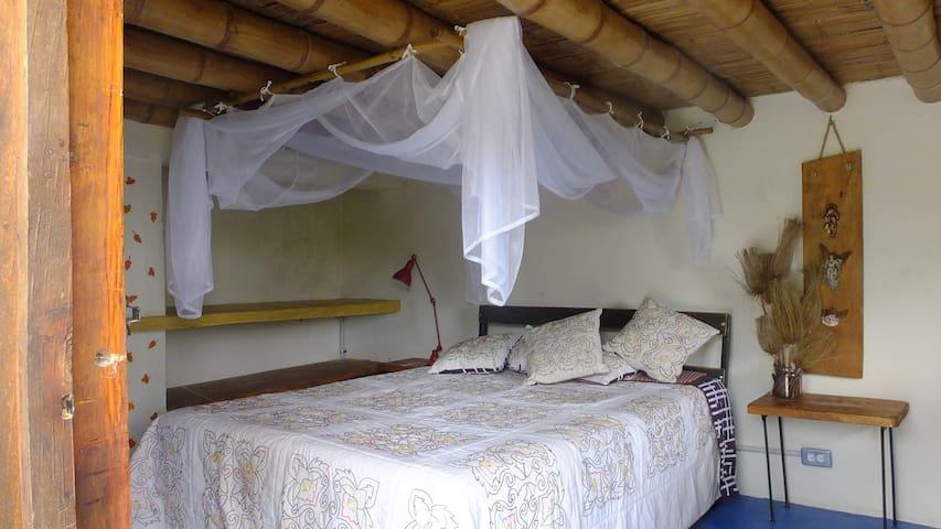 Habitación doble en la casita