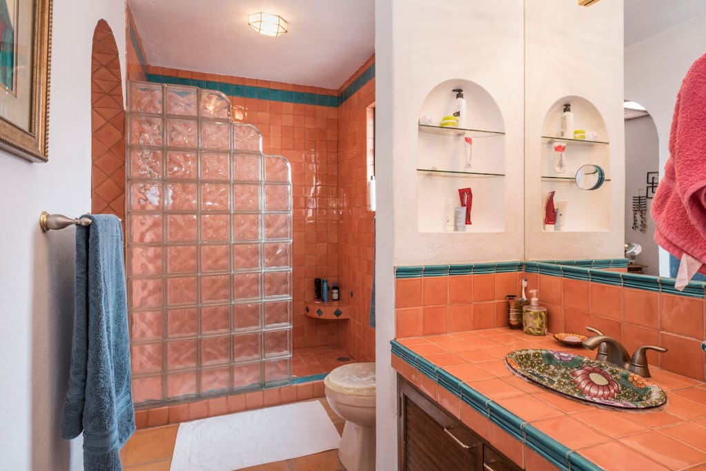 Bright (shared) bathroom