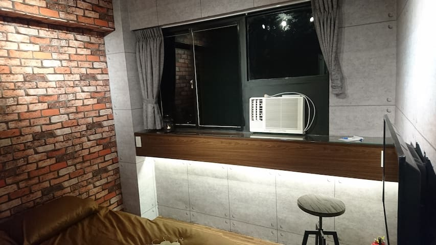 #2 Industrial style apartment near Dongmen station