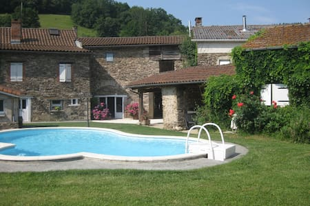 maison avec piscine, au calme et 15 mn d'Albi - Villefranche-d'Albigeois - Отпускное жилье