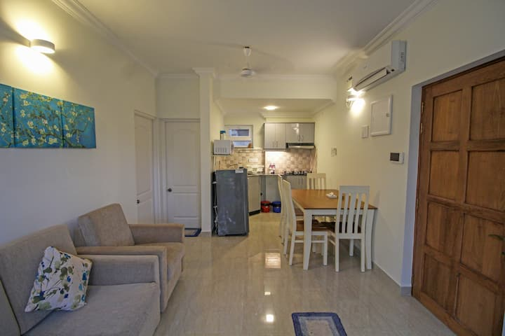 Fully Furnished 1BHK Apartmnt near Calangute Beach