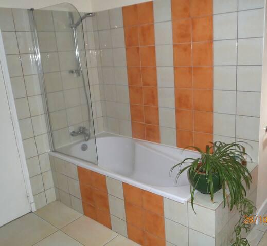 salle de bain privatisée