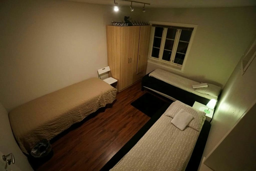 """""""Camera view"""" of your room no. HS1 with 3 single beds"""