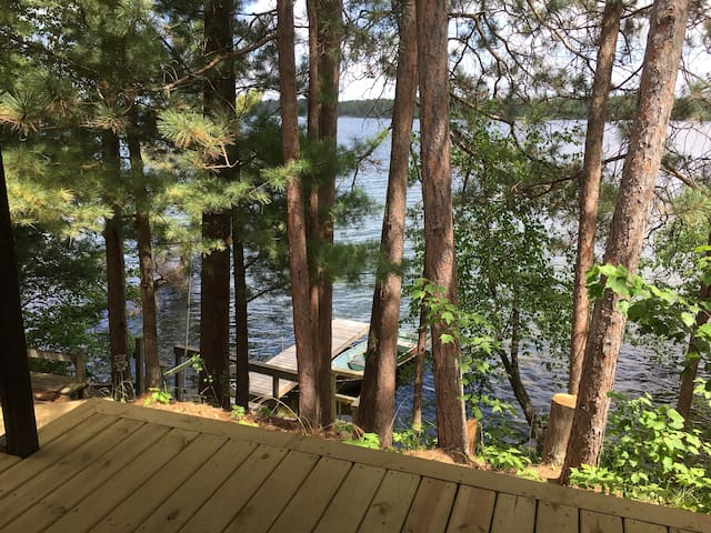 """""""The Cabin"""" on Loon Lake"""