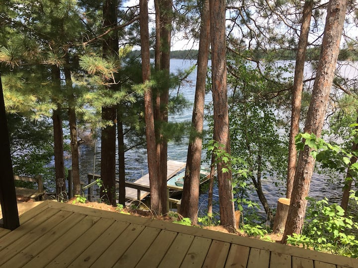 """The Cabin"" on Loon Lake"