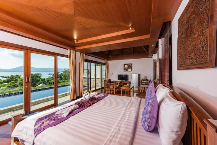 Rich Tropical One Bedroom Seaview at Dream Seapool