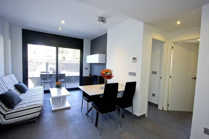 301 Nuria B1 InmoSantos Location Appartement Roses