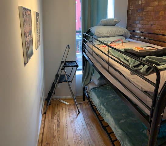 Best room in best location. Manhattan Bunker Room!