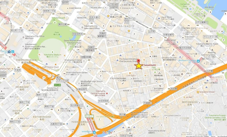 ★Marvellous Location★ Max8 Yokohama Chinatown Wifi - 横浜市 - House