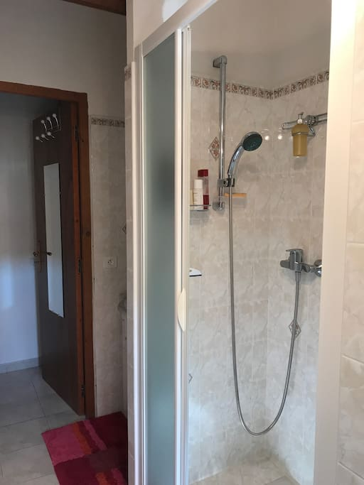 Salle de douche privative