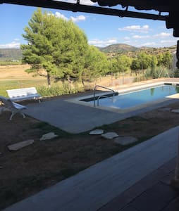 Luxury Villa with Pool, 1 hour driving from Madrid - Sacedón