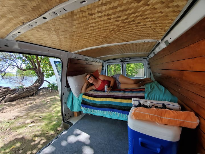 Customized Camper Van Ready for Maui Adventures