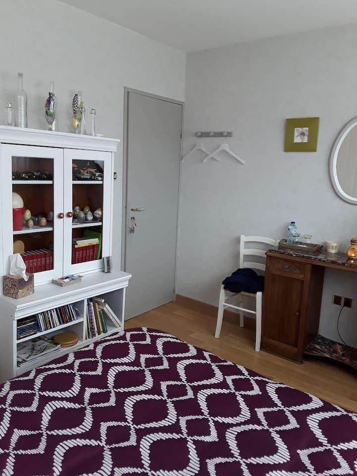 Chambre privée dans maison proche vignobles