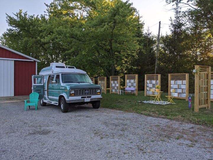 Private RV Parking on Picturesque Farm