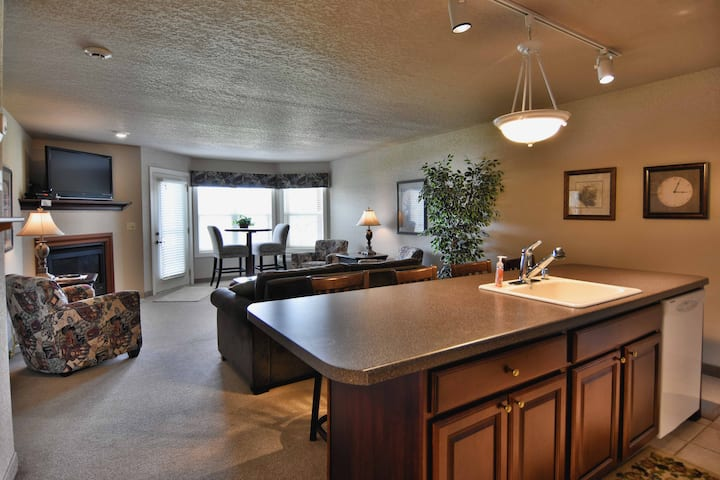 T311 condo on Tagalong Golf Course overlooking Red Cedar lake