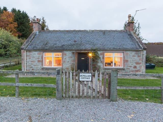 Dunglass Cottage Entrance