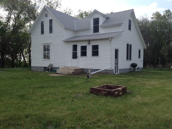 Farm House Near Fort Ransom
