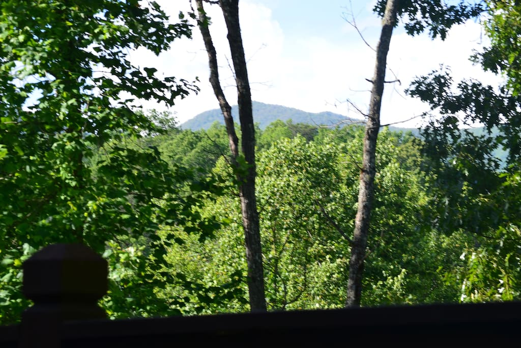 And yet another view from our covered porch.