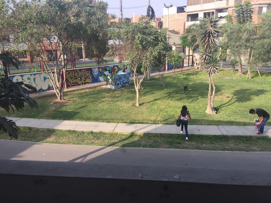 Frente al parque Sector 1 - Bocanegra