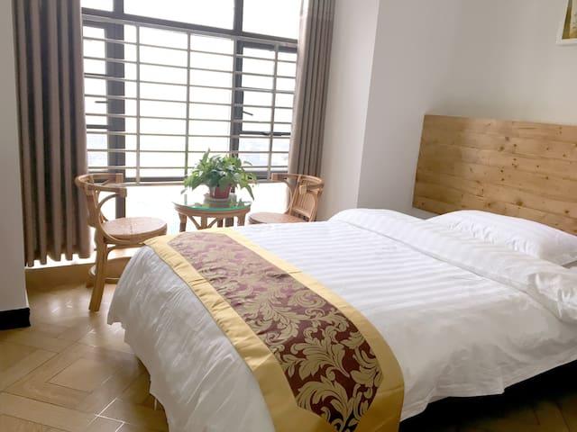远眺天门山温馨公寓(单间) - Zhangjiajie Shi - Apartamento