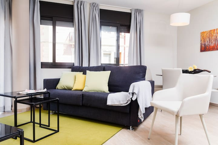 Apartamento nuevo junto a Plaça Espanya y la Fira