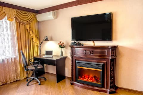 """Apartment """"9nebo"""" Moscow"""
