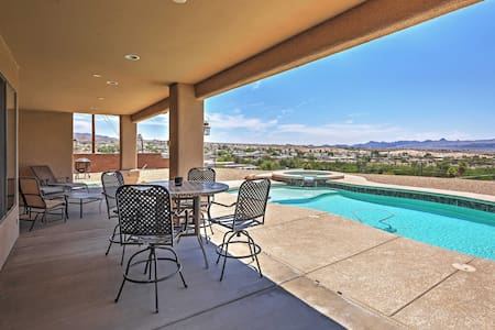 Lake Havasu City Retreat w/ Views & Private Pool!
