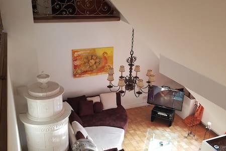 Spacious TopFloor, Vineyard Views, Stroll to Donau - Wien - Flat