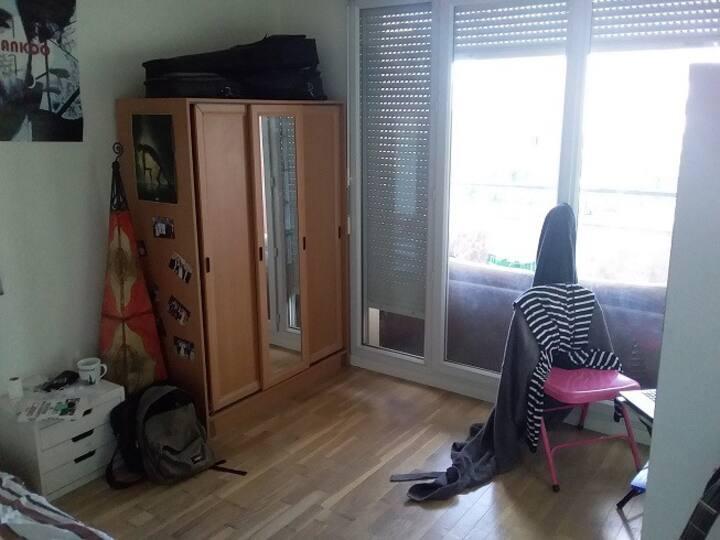 Chambre à louer avec Balcon et Terrasse