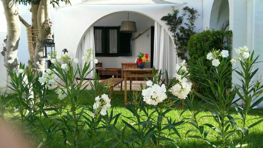 A 100 m de dos playas Es Caló Blanc y Binisafúa - Sant Lluís - Apartment