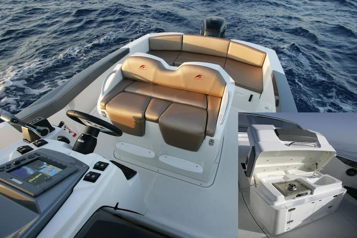 Karnic 2251 - Yamaha 200HP * Boat rent in Split *