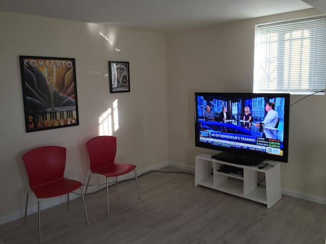 55 inch LED (all premium channels)