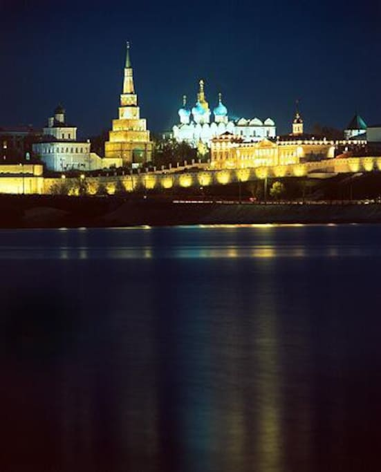 view from the window of the Kremlin