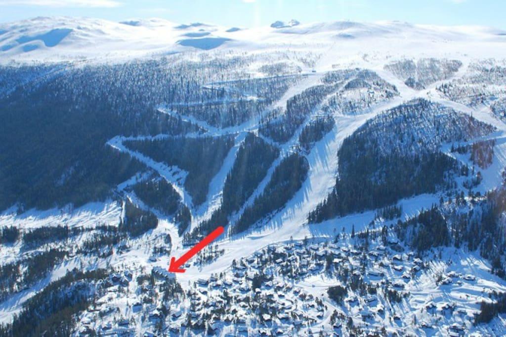 Fantastisk ski in out leilighet 3 srom wifi barn for Badezimmer 5330