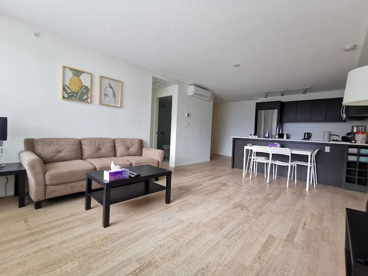 Spacious and bright 2-bedroom 2-bathroom apartment