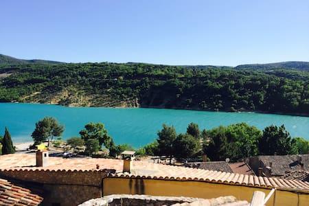 Vacances au bord du Lac de Ste Croix Le Verdon - Bauduen - Talo
