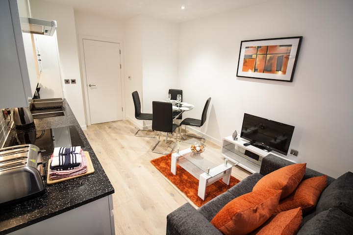 Modern and Private Serviced Apartment - Reading - Apartemen