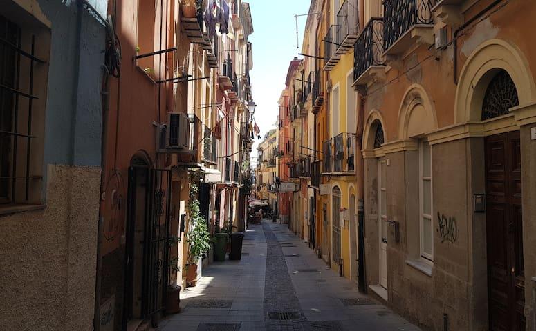 One bedroom apartment in Cagliari's town center