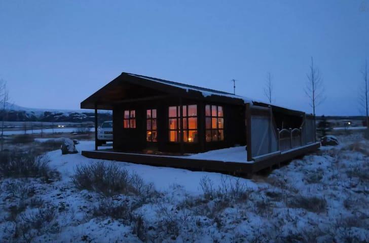 Cabin by Geysir