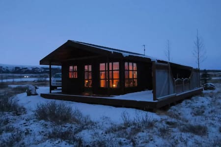 Cabin by Geysir - Haukadalur - Zomerhuis/Cottage