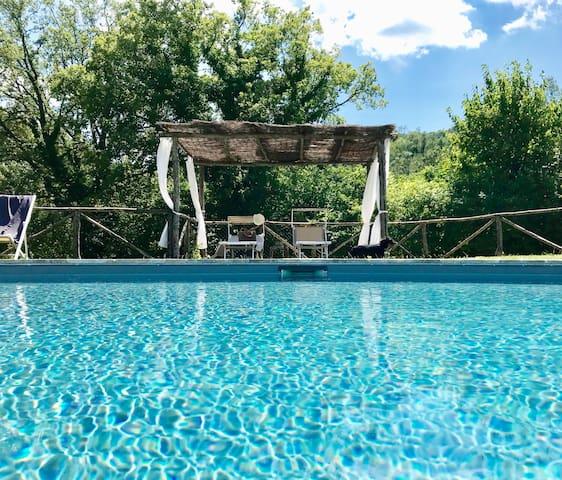 Villa con Piscina - Spoleto - I Ciliegi